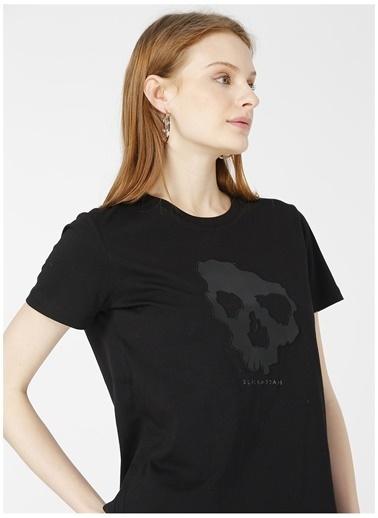 Black On Black Black On Black Forli Siyah Kadın T-Shirt Siyah